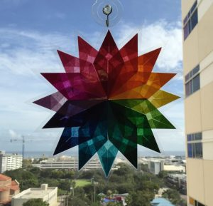 Handmade Rainbow Star